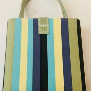 Hello Kitty Bags - Turquoise Black Green Striped Small Bags are In